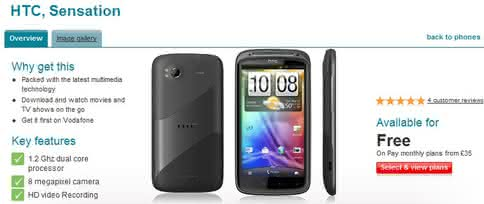 HTC Sensation Vodafone