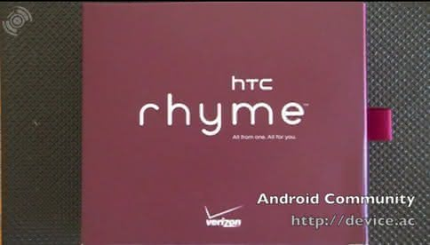 HTC Rhyme Box
