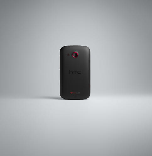 HTC Desire C-BACK-BLACK-RGB