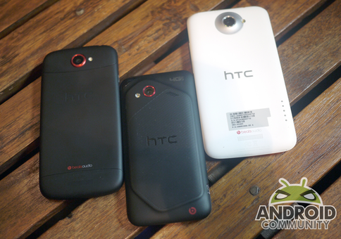 HTC Incredible 4G LTE And One X And S