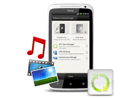HTC Sync Manager Smartphone