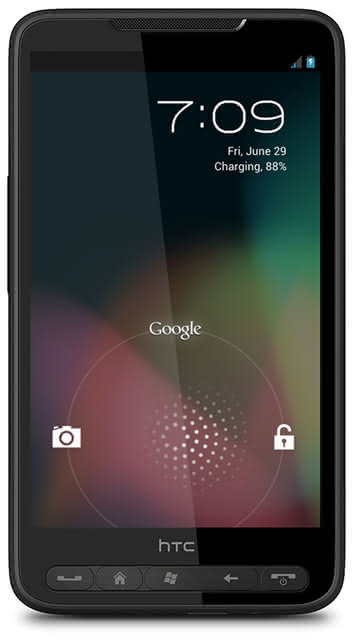 Android 4.1 Jelly Bean для HTC HD2