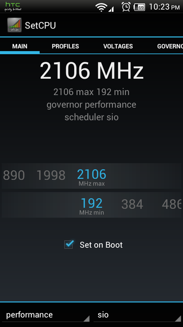 HTC One S New Custom Kernel