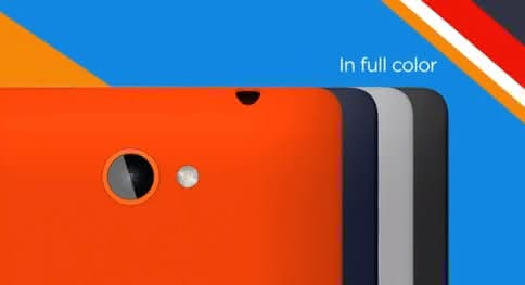 Windows Phone 8S All Colors