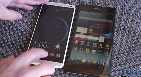 HTC One max против Sony Xperia Z Ultra два смартфона