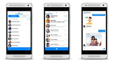 Facebook Messenger на Android