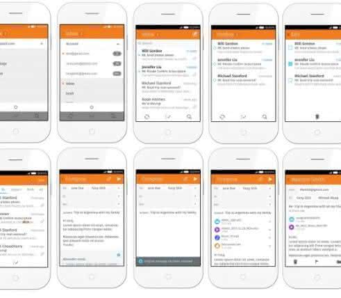 Firefox OS 2.0 Email App