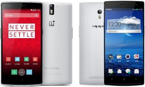 OnePlus One Oppo Find 7
