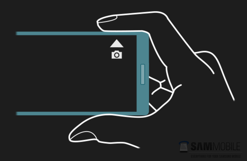 Samsung Galaxy Note 4 Side Touch