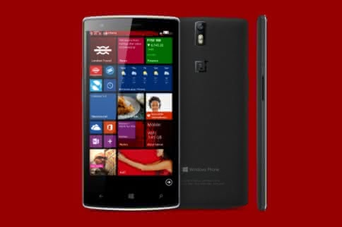 OnePlus Windows Phone