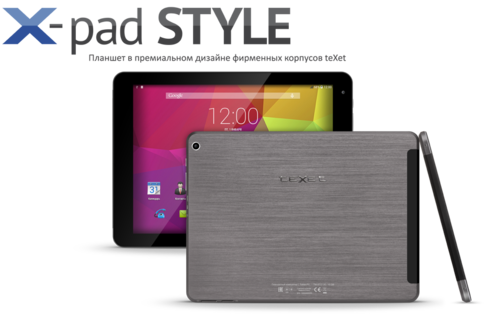teXet X-Pad STYLE 10.1 3G