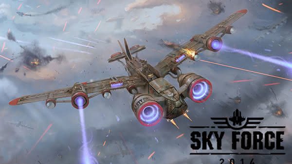 Sky Force 2014 доступна для Android и iOS