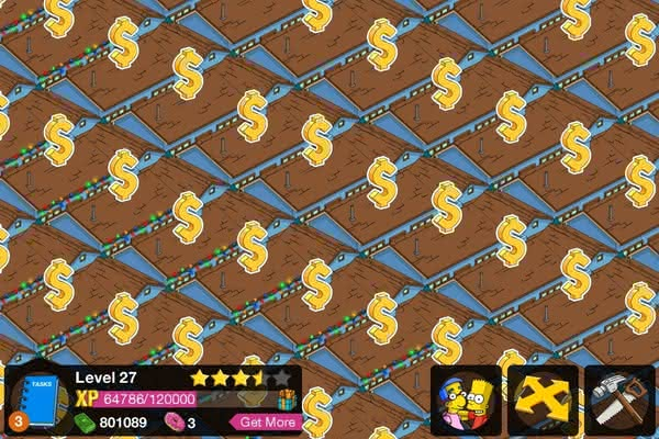 The Simpsons: Tapped Out секреты