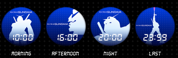 RX-78-2 Watch face