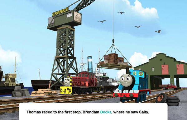 Thomas Musical Day for Percy