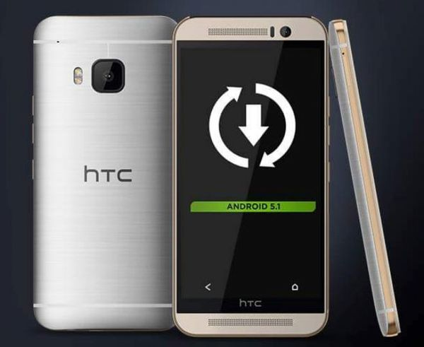 HTC One M9 получает Android 5.1