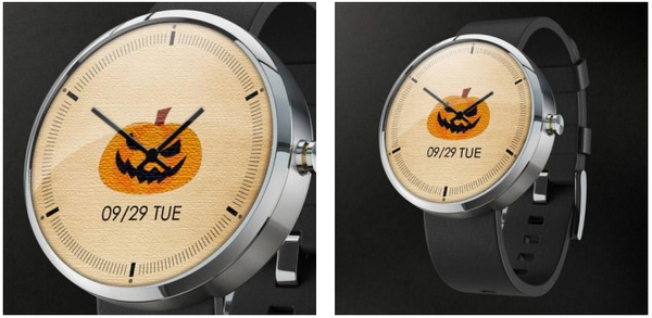 Pumpkin Watch Face