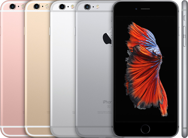 Рендер Apple iPhone 6s