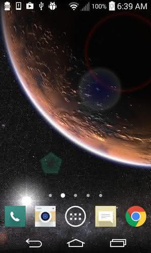 Mars in HD Gyro 3D XL для Android