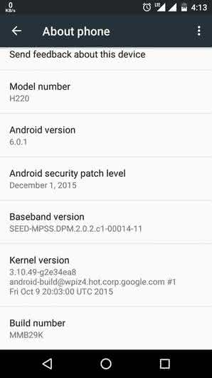 Android 6.0.1 на Android One