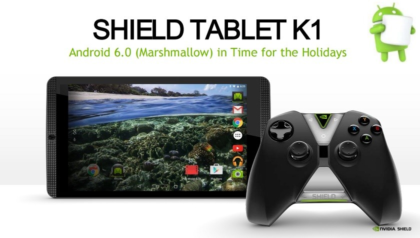 NVIDIA SHIELD Tablet K1 получит Android 6.0 скоро