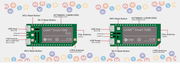 MediaTek LinkIt Smart 7688 и Duo