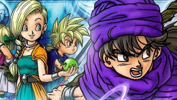 Выход Dragon Quest V: Hand of Heavenly Bride