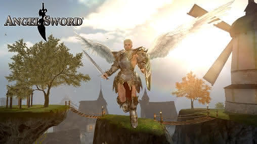 MMO RPG на Android Angel Sword