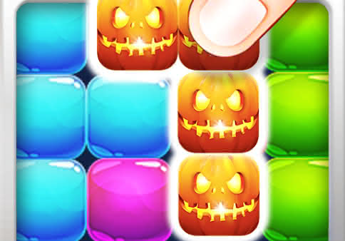 Candy block puzzle — Halloween для Android