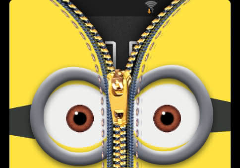 Zipper Lock Screen Yellow для Android