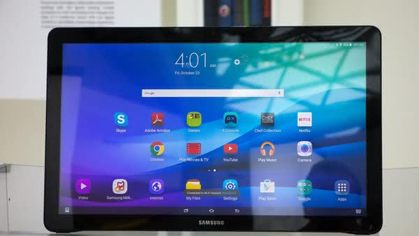 Анонс Samsung Galaxy View