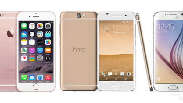 Сравнение HTC One A9, iPhone 6S и Galaxy S6