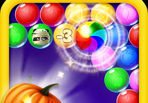 Lovely Panda Bubble Halloween для Android