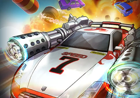 Гоночный экшн Rush N Krush для Android