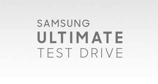 Акция Samsung Ultimate Test Drive