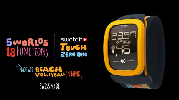Анонс Swatch Touch Zero One