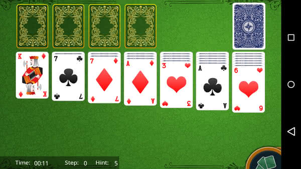 Klondike Solitaire HD для Android