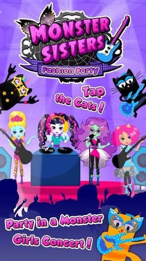 Monster Sisters Fashion Party