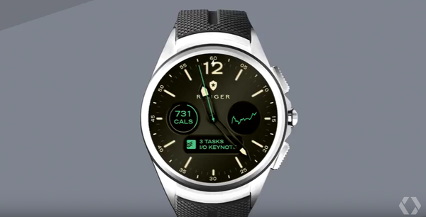 Циферблаты для Android Wear 2.0