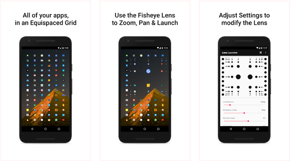 Lens Launcher для Android