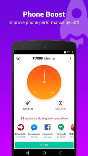 Turbo Cleaner – Speed booster