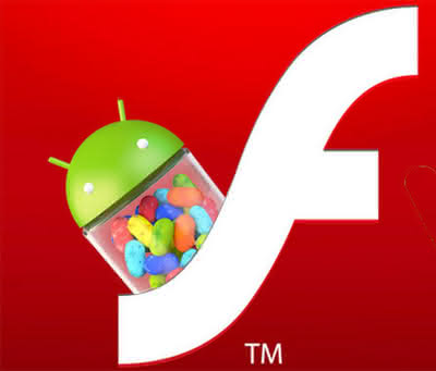 Adobe Flash и Android 4.1 Gingerbread