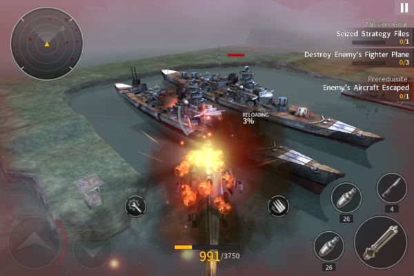 Gunship Battle: Second War для Android