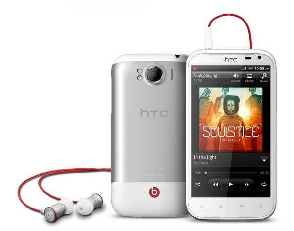 HTC Sensation XL с Beats