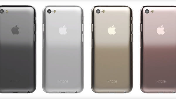 Концепт iPhone 7 в стиле iPhone 3GS