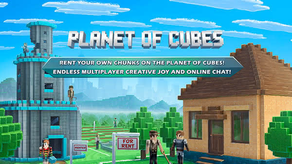 MMO-песочница Planet of Cubes на Android