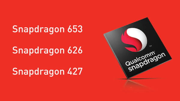 Анонс чипов Qualcomm Snapdragon 653, 626 и 427
