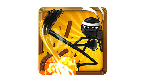 Stickninja Smash — защита додзе