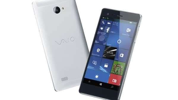 Анонс VAIO Phone Biz на Windows 10 Mobile