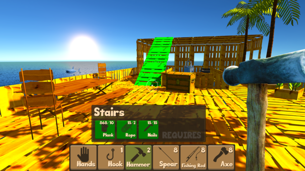 Raft Survival Simulator для Android